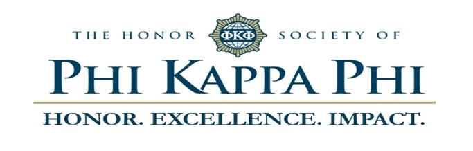 The Honor Society of Phi Kappa Phi. Honor. Excellence. Impact.